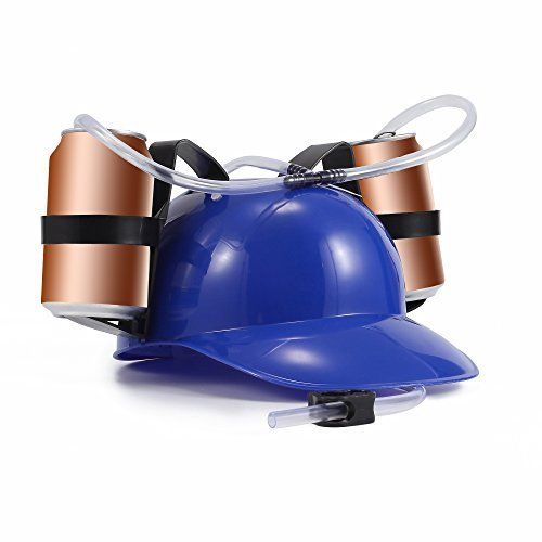 a Guzzler Helmet (Blue) (Drinker Beer)