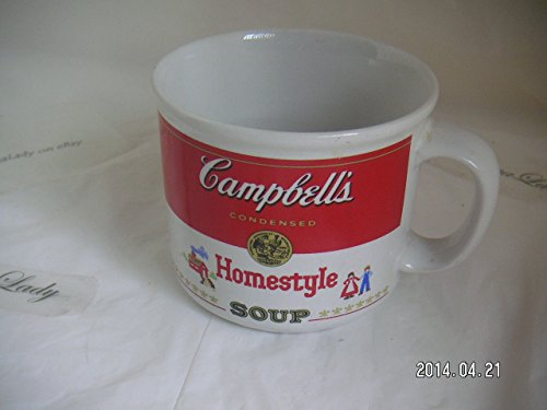 Campbell's Soup Homestyle Soup MUG Campbell Soup 1989 Campbell's Soup