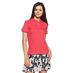 Amazon Brand – Symbol Women's Plain Polo (Pack of 2)