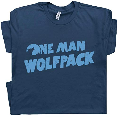 (XL - One Man Wolfpack T Shirt The Funny Hangover Cult Movie Film Wolfman Novelty Humor Tee)