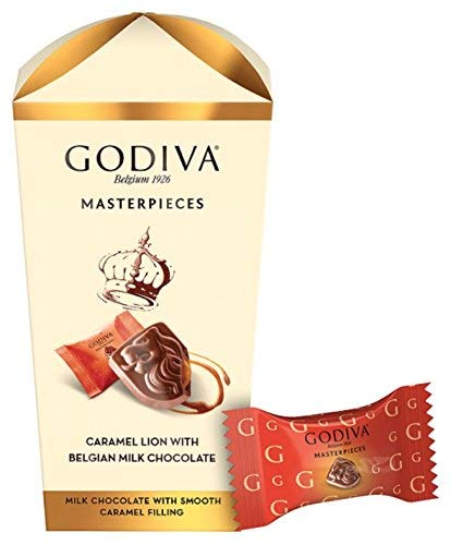 Godiva Caramel Lion with Belgian Milk Chocolate 193g