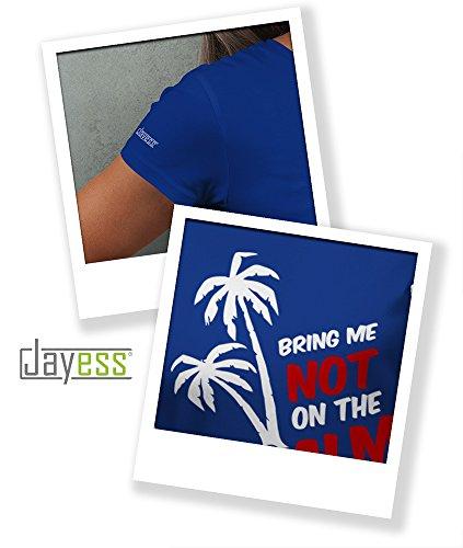 T-shirt Bring - Royalblau Damen Me Jayess Palm Not The On