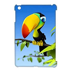 3D Beautiful parrot iPad Mini Case White by ruishername