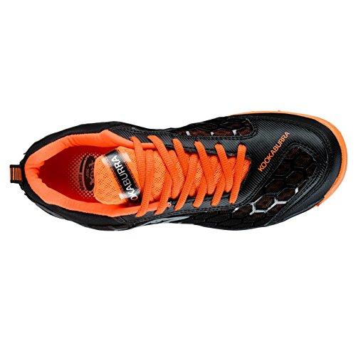 Kookaburra , Jungen Feldhockeyschuhe  schwarz schwarz/orange One size