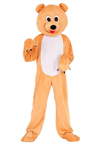 Pooh Bear Woman Costume (Forum Novelties Child's Honey Bear Mascot Costume)