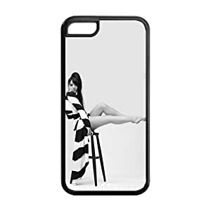 the Case Shop- Lily Allen Singer TPU Rubber Hard Back Case Silicone Cover Skin for iPhone 5C , i5cxq-541