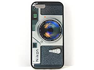Iphone 5s, Iphone 5 Vintage Travel Camera Case, Creative Novelty Case! Free Screen Protector!