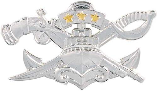 [해외]Naval Special Warfare Combatant-Craft Crewman Master SWCC Regulation Mirror Finish / Naval Special Warfare Combatant-Craft Crewman Master SWCC Regulation Mirror Finish