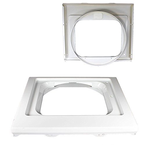 (134031600 Laundry Center Dryer Front Panel Genuine Original Equipment Manufacturer (OEM) Part White)