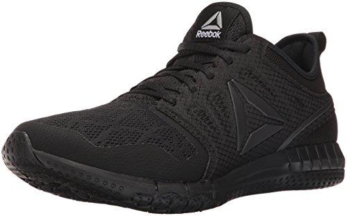 Reebok Men's Zprint 3D Running Shoe, Black/Coal, 10.5 M US