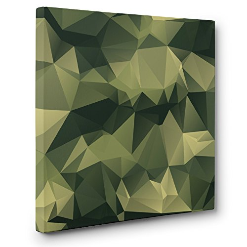 Abstract Camo CANVAS Wall Art Home Décor