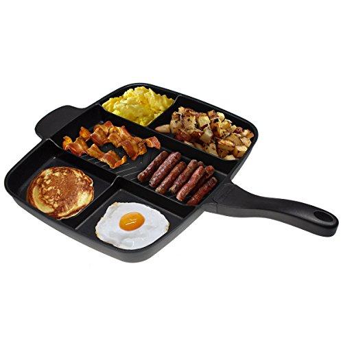 Non Stick Divided Breakfast Skillet