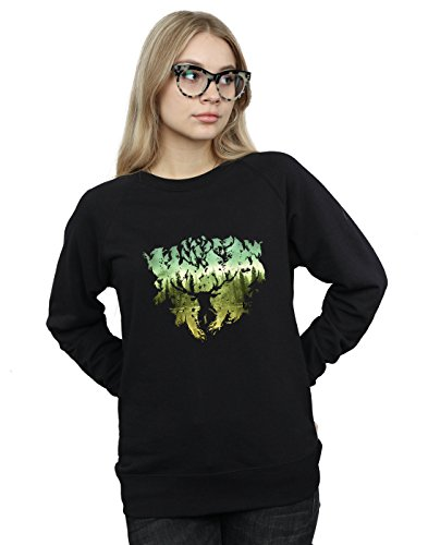 Forest Mujer De Entrenamiento Harry Potter Negro Magical Camisa t7UFnwvq