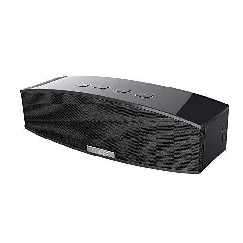 Anker-Premium-Stereo-Bluetooth-40-Speaker-A3143-20W-Output-from-Dual-10W-Drivers-with-Two-Passive-Subwoofers-Portable-Wireless-Speaker-for-iPhone-iPad-Nexus-and-More-Black