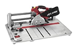 With the capabilities of a standard miter and table saws, the compact SKIL flooring saw model 3601 allows you to cut flooring right where you're installing. Durable, lightweight and portable, DIYers and flooring specialists agree it makes woo...
