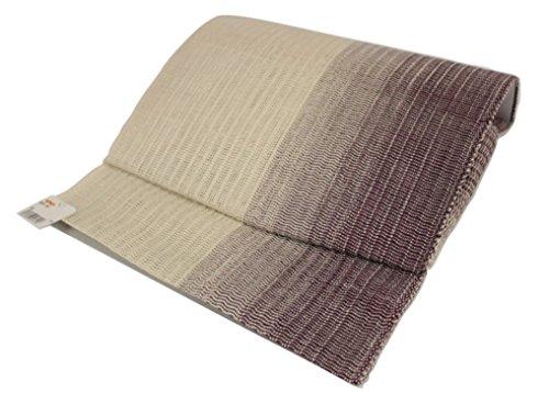 腐敗アクセス有彩色の軽装帯 手織り 絹麻ボカシ TAK-2 ケース入り