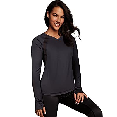 Maidenform Baselayer Active Extra Coverage V-Neck Top