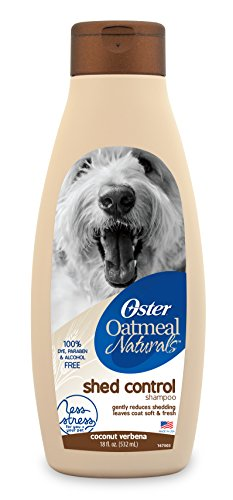 Oster Oatmeal Naturals dog Shampoo with oatmeal and wholesome ingredients - 18 fl oz