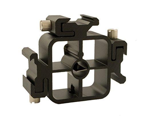 Multi Aufsteckblitz / Lampenschirmhalter für 3 Blitze bzw. Zubehör