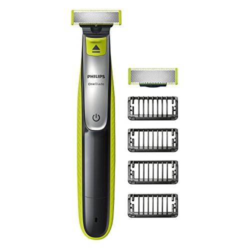 chollos oferta descuentos barato Philips OneBlade QP2530 30 Recortador de barba recorta perfila y afeita enchufe inglés importado UK