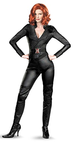 Disney Store/Disney Parks The Avengers Black Widow Costume Womens Size XL 16/18