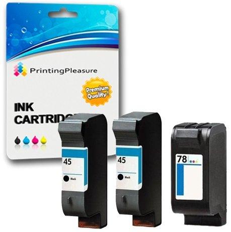 16 opinioni per Printing Pleasure 3 Compatibili HP 45 / HP 78 Cartucce d'inchiostro Sostituzione