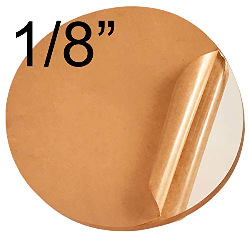 Acrylicblank Clear Acrylic Circle Disc Round (7 inch Diameter, 1/8