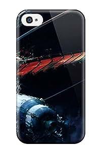 Awesome Design Spacestation Artistic Space Astronautics Flight Travel Aerospace Sci Fi People Sci Fi Hard Case Cover For Iphone 4/4s