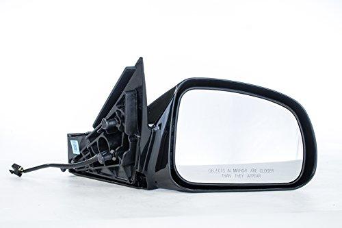 Dependable Direct Right Passenger Side Black Non-Heated Non-Folding Door Mirror for Pontiac Grand Prix (2004 2005 2006 2007 2008)