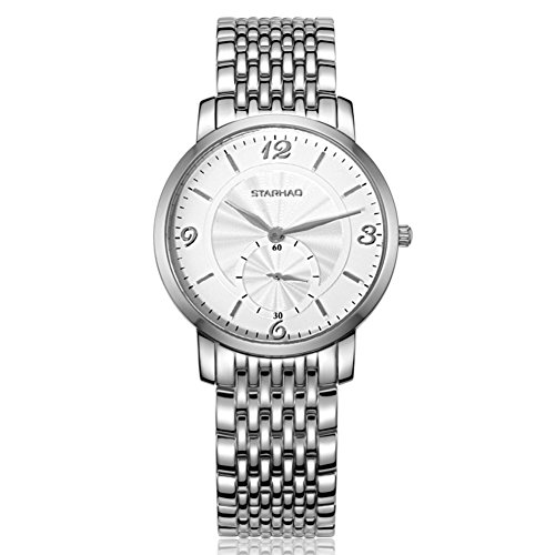 Fashion waterproof quartz female watch/Sapphire business casual men and women couple table-male 3 by Unknown