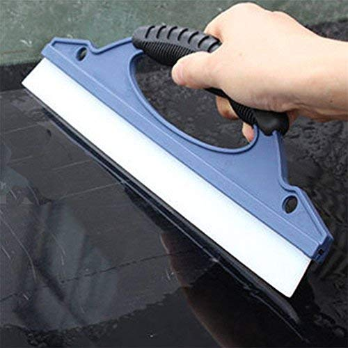 Silicone Glass Window Wiper Home Car Water Squeegee Bathroom Mirror Blade Clean