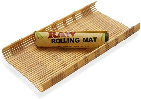 RAW® رولینگ مات 'بامبو طبیعی' 2 تشک (برای استفاده از مقالات W / Rolling)