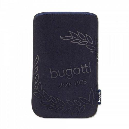 Bugatti SlimCase Étui en néoprène pour téléphone portable Taille M Blueberry