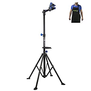 Demon Bike Repair Stand Shop Quality Comes with Shop Apron