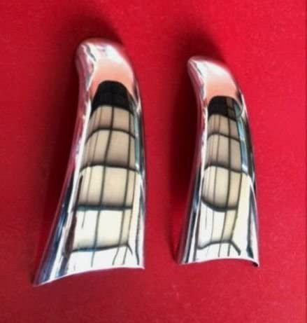 2 Door Handle Covers Mirror Stainless Steel for SCANIA R series trucks decoration