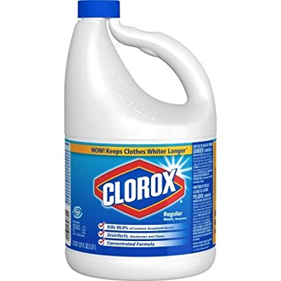 Clorox Regular Bleach 121 fl oz per bottle set of 4