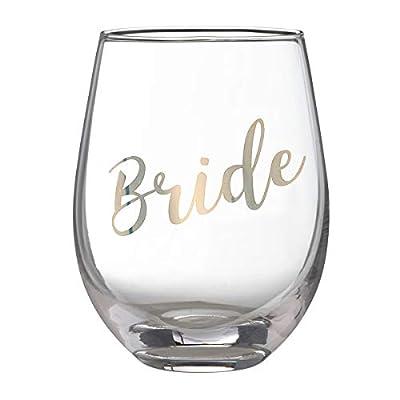 Lillian Rose Gold Stemless Wine Glass