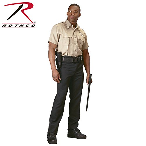 Rothco Short Sleeve Uniform Shirt - Khaki, Medium]()