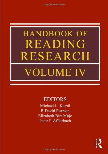 4: Handbook of Reading Research, Volume IV