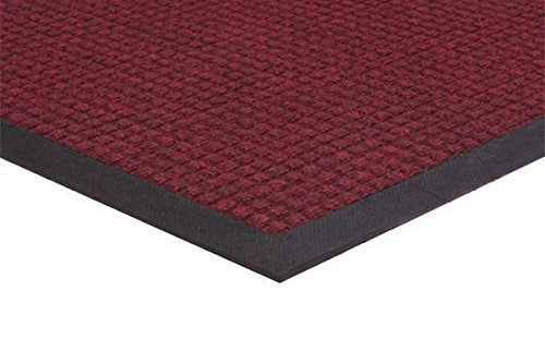 Spongemat, 4' x 4', Red/Black by MatsMatsMats.com