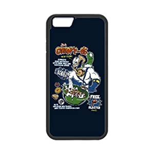 Groovy-O's Cereal iPhone 6 4.7 Inch Cell Phone Case Black MSU7197706