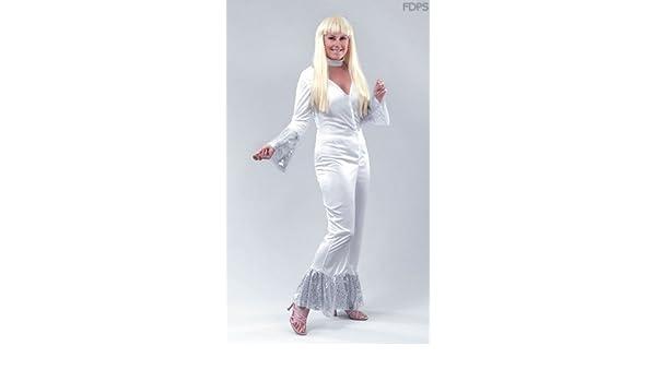Desconocido Disfraz Traje Vestimenta de Abba Femenino Euro 38-44 ...