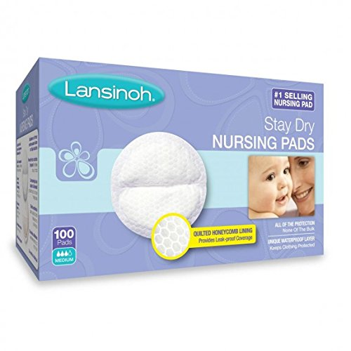 Lansinoh Stay Dry Disposable Nursing Pads 100 ct (2-pack)