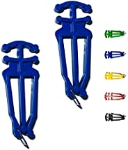 Bagdent Cross Country Skis and Poles Holder – 1 Pair, Universal Nordic Ski Pole Carrier