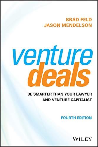 Venture Deals Smarter Lawyer Capitalist product image