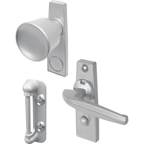 Prime-Line Products K 5000 Tulip Knob Latch Set for Screen or Storm Door, (Swinging Screen)