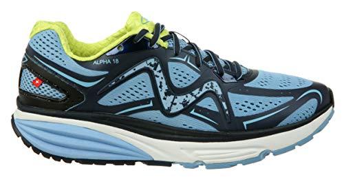 MBT Shoes Women's Simba 3 Athletic Shoe: Sky/Blue Navy 7.5 Medium (B) Lace