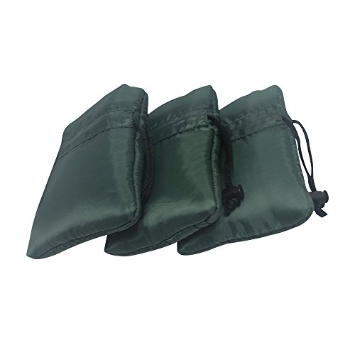 UBOWAY 3Pc Outdoor Faucet Cover Pipe Glove (Green)