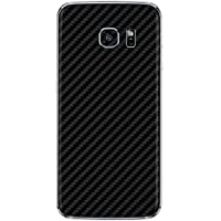 GADGETS WRAP Full Body Carbon Black Skin for Samsung Galaxy S6 Edge (S-240)