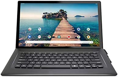 "Venturer 14"" Luna Max [VCT9T48Q34RBM] Quad-Core 3GB RAM 64GB Storage IPS 1920 x 1080 FHD Touchscreen WiFi Bluetooth with Detachable Keyboard Android 10 Tablet"